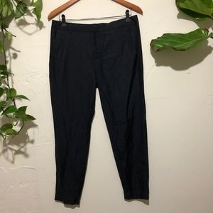 NWT Vince Cupro/Cotton Blend tapered Ankle Pants 6